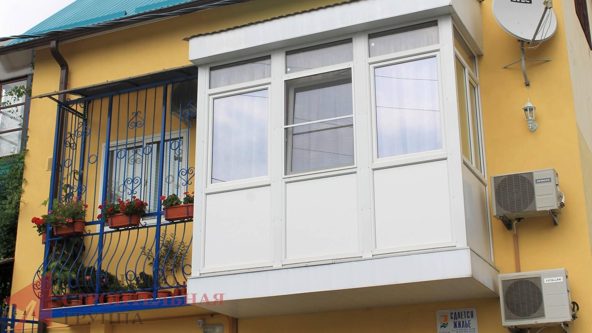 Окна в квартиру, Остекление балконов, Окна и двери ELEX