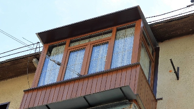 Остекление балконов, Окна и двери ELEX, Окна в квартиру