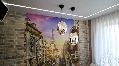 Натяжные потолки для кухни, Матовые натяжные потолки